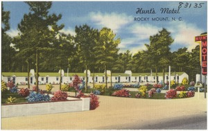 Hunt's Motel, Rocky Mount, N. C.