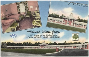 Midwood Motel Court, U.S. Route 301 -- 5 miles south, Rocky Mount, North Carolina