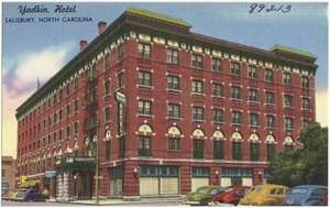 Yadkin Hotel, Salisbury, North Carolina