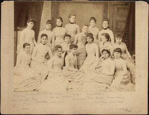 Dana Hall graduating class of 1887