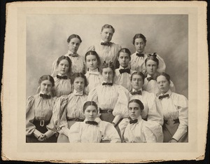 Dana Hall Graduating Class of 1896