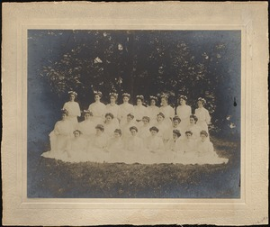 Dana Hall Graduating Class, year unknown c. 1910