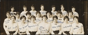 Dana Hall Glee Club, 1913/1914