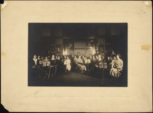 Orchestra Rehearsal in the Living Room, Dana Main, 1924