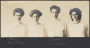 Four students, c. 1908