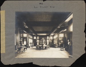 Living Room of Dana Main, c. 1908