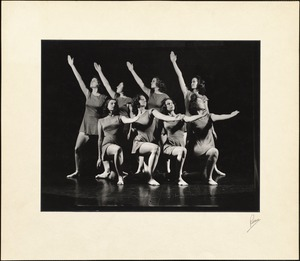 Dancers on Stage (both arms raised)
