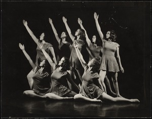 Dancers on Stage (right arm raised)