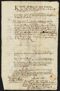 Deed, Azariah Selden to Samuel Partridge, 1764