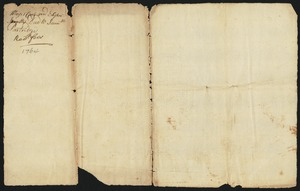 Deed, Elijah Smith of Hadley and Moses Cook of Amherst to Samuel Partridge,1764