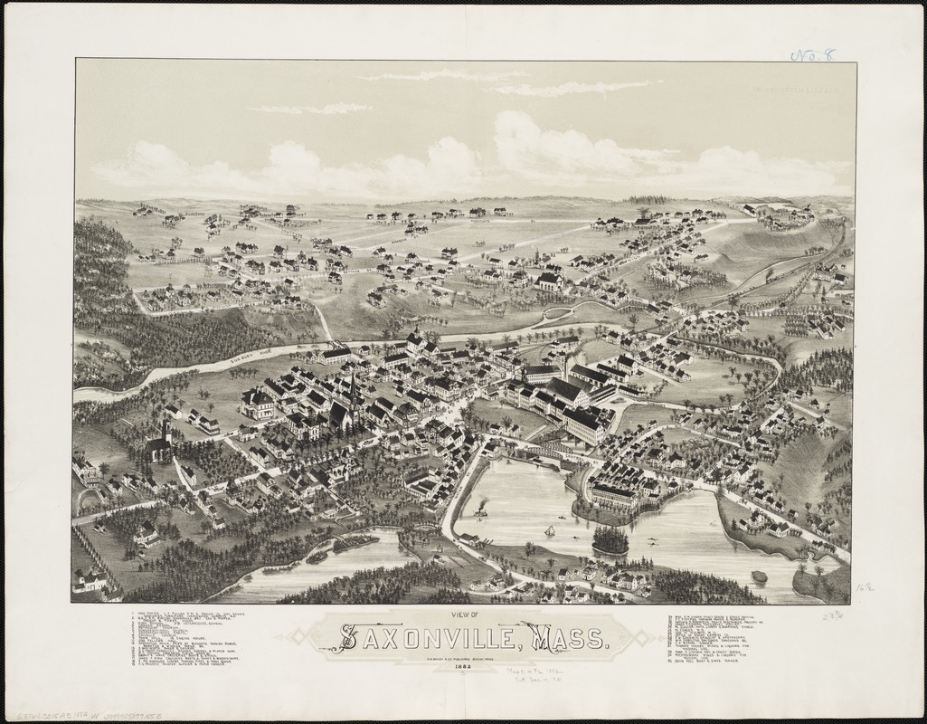 View of Saxonville, Mass