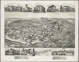 View of Hopedale, Massachusetts