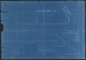 Rockport Water Works, plan and profile of roadway to pumping station