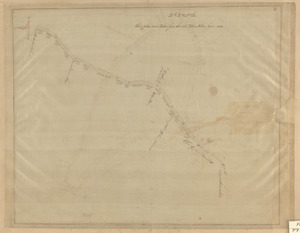 Plan of section of South St.