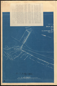 Plan of Back Beach Landing in the Town of Rockport as ascertained by the county commissioners