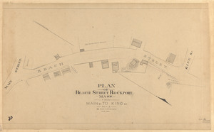Plan of Beach Street, Rockport, Mass., from Main St. to King St.
