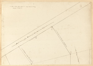 Plan of town house lot