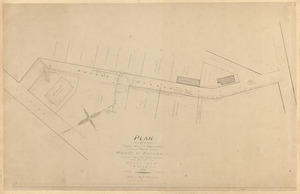 Plan of a town way in Rockport from Main St. to Broadway as laid out by the Selectmen