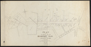 Plan of a town way in Rockport, Mass., from Main to High Street as laid out by the county commissioners