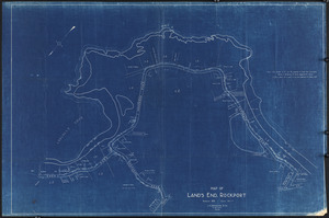 Map of Land's End, Rockport