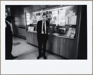 Alan Hovhaness at library exhibit