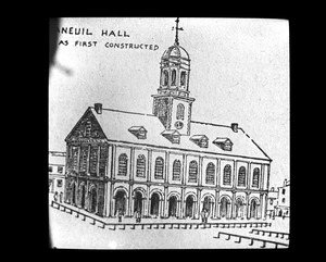 Faneuil Hall as first built