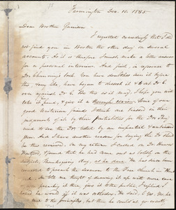 Letter from Amos Augustus Phelps, Farmington [Conn.], to William Lloyd Garrison, Dec. 10. 1835
