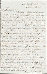 Letter from Mahlon B. Linton, [Pa.], to George Thompson, July 25th / [18]64