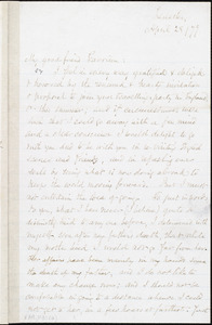 Letter from Samuel May, Jr., Leicester, [Mass.], to William Lloyd Garrison, April 28 / [18]79