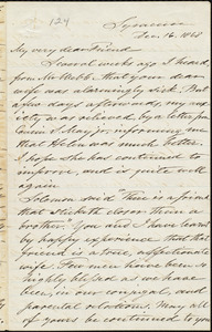 Letter from Samuel Joseph May, Syracuse, [N.Y.], to William Lloyd Garrison, Dec[ember] 16. 1868