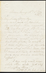 Letter from John Greenleaf Whitter, Amesbury, [Mass.], to William Lloyd Garrison, 18 [January] 1863