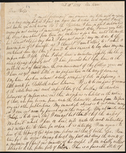 Letter from John McCurdy Strong Perry, New Haven, to Amos Augustus Phelps, Feb 19th 1831