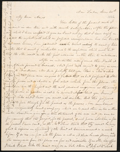 Letter from Isaac Gleason Porter, New London, to Amos Augustus Phelps, June 30th [1826]