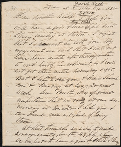 Letter from David Root, Dover, to Amos Augustus Phelps, May 24 - 1835
