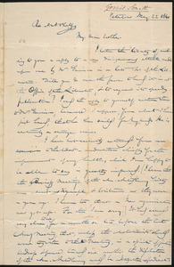 Letter from Gerrit Smith, Peterboro, to Amos Augustus Phelps, May 22 1840