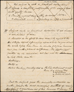Draft of a sermon by Amos Augustus Phelps, [ca. 1834-1835]
