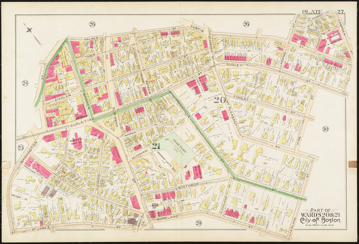 Atlas of the city of Boston : city proper and Roxbury