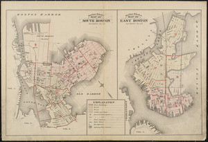 Atlas of the city of Boston : South & East Boston : volume four