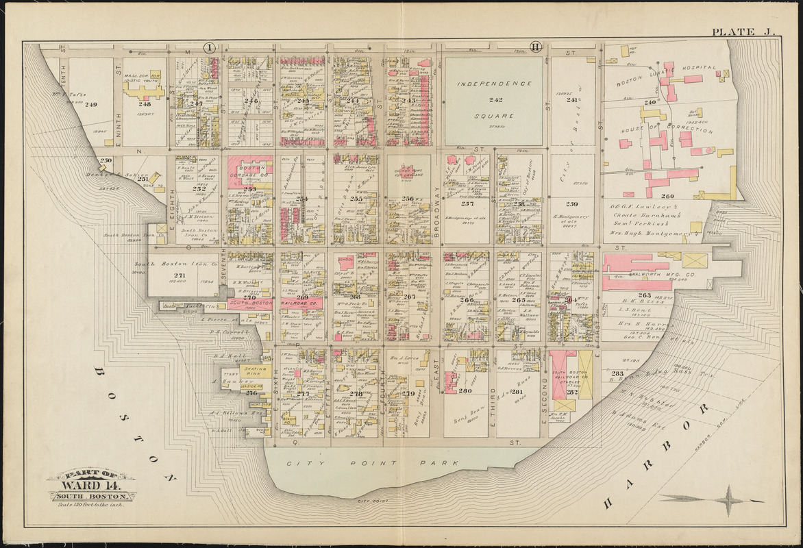 Atlas of the city of Boston : South & East Boston