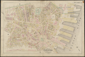 Atlas of the city of Boston : Charlestown and Brighton