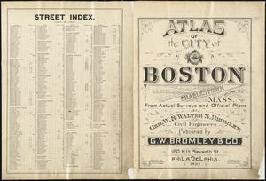Atlas of the city of Boston : Charlestown, Mass. : volume ten
