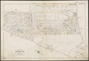 Atlas of the city of Boston, West Roxbury