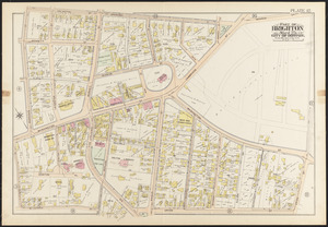 Atlas of the city of Boston, Brighton