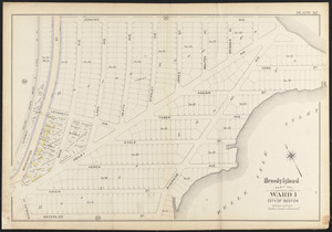Atlas of the city of Boston, East Boston