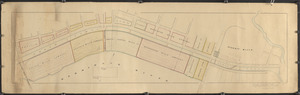 Plan for railroad track across Canal Street by B&M RR