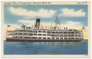 "Steamer ""State of Pennsylvania"", Riverview Beach, N. J."