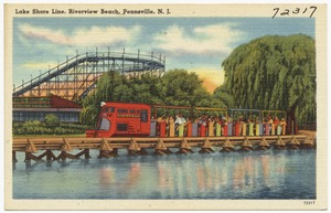 Lake shore line, Riverview Beach, Pennsville, N. J.