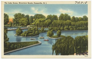 The lake scene, Riverview Beach, Pennsville, N. J.