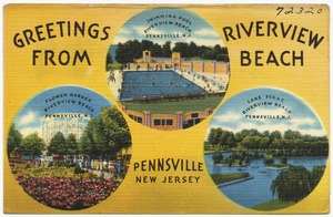 Greetings from Riverview Beach, Pennsville, New Jersey