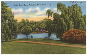 Cedar Brook Park, Plainfield, New Jersey